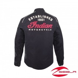 CHAQUETA HOMBRE SPIRIT - NEGRA BY INDIAN MOTORCYCLES