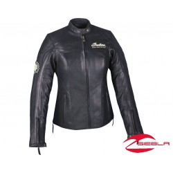 CHAQUETA MUJER EFFIE - NEGRA BY INDIAN MOTORCYCLE®