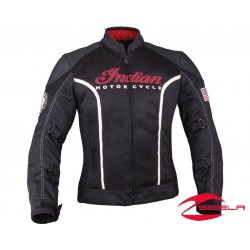 WOMENS SPRINGFIELD MESH JACKET - BLACK BY INDIAN MOTORCYCLE