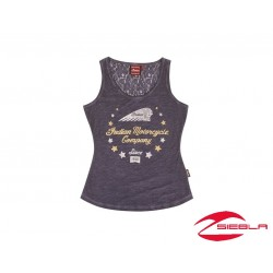 WOMEN'S NAVY STARS WREATH TANK BY INDIAN MOTORCYCLE®