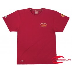 MEN'S MUNRO SPEED RECORD TEE- RED BY INDIAN MOTORCYCLE
