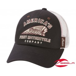 FIRST HAT - BLACK/WHITE BY INDIAN MOTORCYCLE