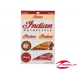 STICKER SET BY INDIAN MOTORCYCLE®