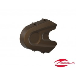 Bronze Belt Pulley Cover by Indian Scout Motorcycle