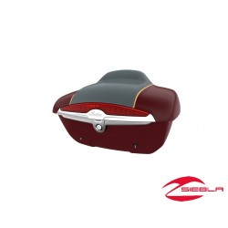 INDIAN CHIEFTAIN QUICK RELEASE TRUNK - Wildfire Red Pearl/Thunder Black