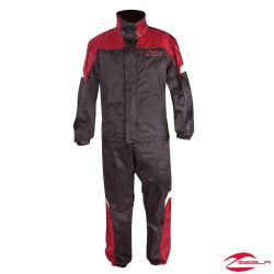 INDIAN RAINSUIT - BLACK/RED BY INDIAN MOTORCYCLE