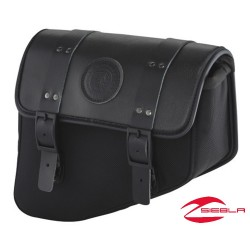 GENUINE LEATHER SADDLEBAGS – BLACK BY INDIAN MOTORCYCLE®