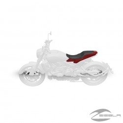 TRACKER SEAT AND BASE COWL PACK - RED