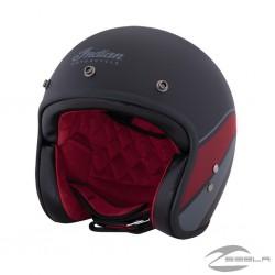 Matte Stripe open face helmet ECE