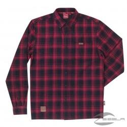 Mens Red Plaid Shirt