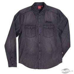 Camisa Vaquera Efecto Lavado para Hombre