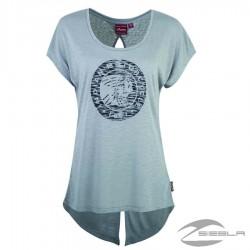 Camiseta Open Back Icon para Mujer