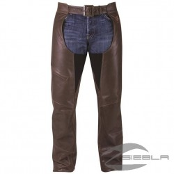 INDIAN CHAPS MENS BROWN LEATHER