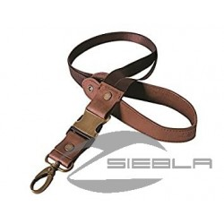 BROWN SCOUT LEATHER KEYRING BY INDIAN