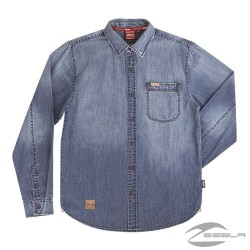Men's washed Denim shirt