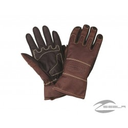 INDIAN PERFORATED RETRO LEATHER GLOVES