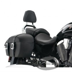 LOCK & RIDE® PASSENGER BACKREST,CROME