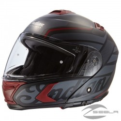 CASCO INTEGRAL (FLIP-UP) NEGRO MATE BY INDIAN