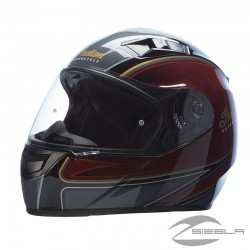 CASCO MODULAR OUTPOST ROJO/NEGRO BY INDIAN