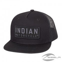 HIGH PROFILE FELT PACTH HAT-BLACK BY INDIAN MOTORCYCLES®