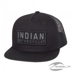 2860907 GORRA PERFORADA HIGH PROFILE NEGRA BY INDIAN MOTORCYCLES®