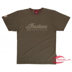 MENS LOGO TEE - GREEN BY INDIAN MOTORCYCLE